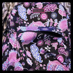 Large Vera Bradley backpack.